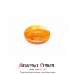 Линза cферическая ZnSe (Селенид Цинка) - D20, F2, Китай